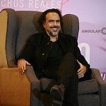 El Director de cine Alejandro Gonzales Iñarritu en conferencia de prensa en la ciudad de México