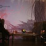 El Director de cine Alejandro Gonzales Iñarritu y el actor Leonardo Dicaprio en conferencia de prensa en la ciudad de México 1