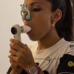 La campeona mundial de frontenis Roció  Guillen realiza  prueba de esfuerzo y desempeño (3)