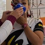 La campeona mundial de frontenis Roció  Guillen realiza  prueba de esfuerzo y desempeño (7)