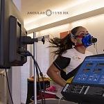 La campeona mundial de frontenis Roció  Guillen realiza  prueba de esfuerzo y desempeño (p1)