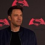 Ben Affleck actor que interpreta a Batman en la pelicula de Batman vs Superman en la premier de la Ciudada de México 2