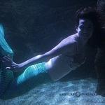 durante el segundo aniversario del acuario inbursa se presento una sirena 1
