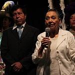 fundadora y directora general de la agrupación Nieves Paniagua de la Compañía Nacional de Danza Folklórica
