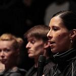 Elisa Carrillo  primera bailarina del Staatsballett Berlin en conferencia de prensa en el Palacio de Bellas Artes (1)