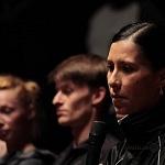 Elisa Carrillo  primera bailarina del Staatsballett Berlin en conferencia de prensa en el Palacio de Bellas Artes