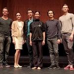 Elisa Carrillo  primera bailarina del Staatsballett Berlin en conferencia de prensa en el Palacio de Bellas Artes (6)