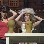 Ximena Nava como Baby en Dirty Dancing en las 100 representaciones 1