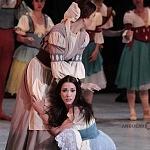 ballet romántico  Giselle en su presentación en Palacio Nacional 2