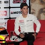 conferencia de prensa del piloto mexicano Gabriel Martínez-Abrego por su proxima participación en MOTO 3 (2)