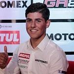 conferencia de prensa del piloto mexicano Gabriel Martínez-Abrego por su proxima participación en MOTO 3 (3)