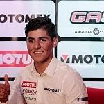 conferencia de prensa del piloto mexicano Gabriel Martínez-Abrego por su proxima participación en MOTO 3 (p1)