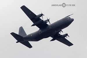 Hércules C- 130 en la parada aérea del 16 de Septiembre 2016