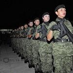Personal Femenil de Adiestramiento Fuerzas Especiales Pase de Lista 2 am Previo al Desfile 2016