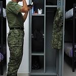 Preparación del agrupamiento femenil de fuerzas especiales,  Dormitorios Desfile 2016