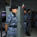 Fuerza Aérea Femenil, en los dormitorios previo al desfile militar 2016