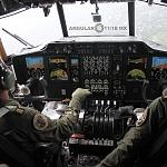 Cabina del Hércules C- 130 durante la parada aérea del 16 de septiembre 2016