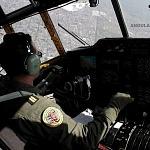 Cabina del Hércules  C -130 durante la Parada aérea del 16 de Septiembre 2016