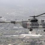 Helicóptero MI-17 desfile militar del 206 aniversario de la Independencia de México