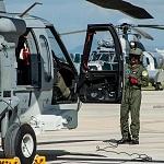 Previo al despegue helicóptero MI 17 con motivo del desfile militar del 16 de Septiembre 2016