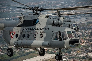 Vista panorámica desde un helicóptero MI 17 foto Cesar Delgado 1
