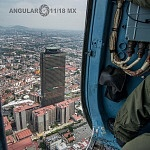 Vista panorámica desde un helicóptero MI 17 foto Cesar Delgado 2