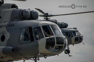 Vista panorámica desde un helicóptero MI 17 foto Cesar Delgado.