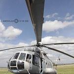 Cabina helicóptero MI-17 desfile militar del 206 aniversario de la Independencia de México
