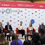 conferencia del prensa de la XXIV edición del Abierto Mexicano 2017