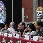 Presentan la Celebración  del  Día de Muertos  2016 Secretario de Cultura capitalino, Eduardo Vázquez Martín.