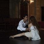 Puesta en escena Romeo y Julieta en la capilla Gótica del centro cultural Helénico 2016