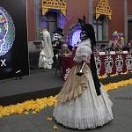 Presentan la Celebración  del  Día de Muertos  2016 de la Ciudad de México conferencia de prensa (catrinas)