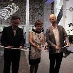 inauguracion de la expo Snoopy & Belle  Fashion corte de listón