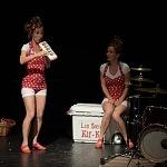 Las Hermanas Kif Kif  en el centro Cultural Helénico. 4to. Encuentro Internacional de Clown