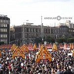 Desfile del Día de Muertos en la ciudad de México 2016