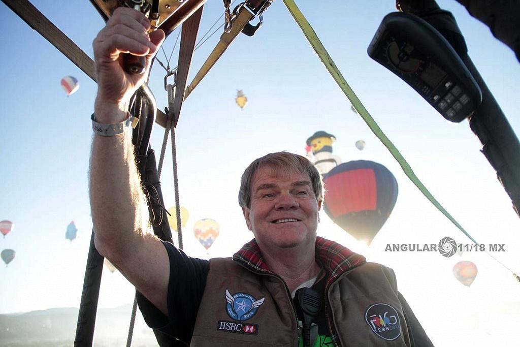 Piloto Dan Keith  originario de Hamilton, Ohio,  Estados Unidos  en el FIG 2016