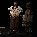 Aziz Gual en el centro Cultural Helénico.l 4to. Encuentro Internacional de Clown