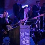 la Big Band Jazz de México fue la encargada de cerrar la primer noche de gala del festiva