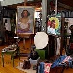 """El museo Casa Estudio Diego Rivera y Frida Kahlo inauguró la exposición """"30 años"""" con piezas originales de los artistas"""