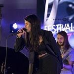 Matilde Band hizo  su aparición en el concierto de gala del Festival Internacional de Jazz de Polanco