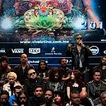 Presentan Festival Vive Latino 2017 con ´parte del elenco en el  teatro metropolitan  de la ciudad de México