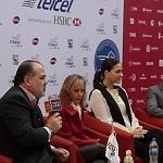 en conferencia de prensa dan a conocer la lista de jugadores  del Abierto Mexicano telcel 2017.