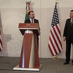 Secretario de Relaciones Exteriores, Luis Videgaray Caso en la visita de alto nivel entre Estados Unidos y México (2)