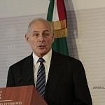 Secretario de Seguridad de Estados Unidos John Kelly en la reunión de alto nivel entre México y Estados Unidos