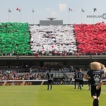 iniciativa UNAMONOS por México en el estadio  Olímpico universitario
