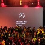 Primer día de actividades del Mercedes Benz Fashion Week Otoño Invierno 2017 sede Ex Convento de San Hipólito (14)