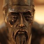 Autor Rafael Coronel obra Reposo escultura en bronce
