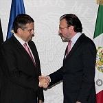 Reunión entre el ministro federal de Alemania Sigmar Gabriel y el Secretaría de Relaciones Exteriores (SRE) Luis Videgaray 1