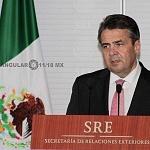 Visita México el Ministro Federal de Alemania, Sigmar Gabriel (1)
