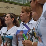 Guardería ABC, 8 años después  padres en un minuto de silencio